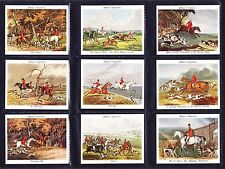 More details for john player old hunting prints (home issue) 1938 set of 25 *excellent condition*