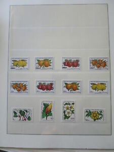 FRUITS AND FLOWERS TURKEY CYPRUS NICE COLLECTION** /Cf972
