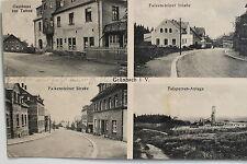 17366 AK Grünbach Vogtland Gasthof zur Tanne Falkensteiner Str. Talsperre 1915