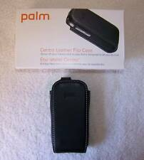 PALM BLACK LEATHER FLIP CASE 4 CENTRO SMARTPHONE 3439WW
