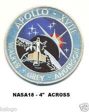PATCH APOLLO 18 MOVIE -  NASA18