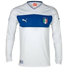 Genuine puma 2012-2013 italie à manches longues away chemise homme, taille: xxl