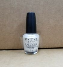 OPI Nail Lacquer ~Van-Couvered in the Snow (C91) Frosty White VHTF *NEW*