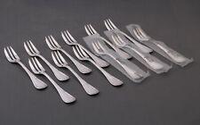 Christofle Rubans 12 Fourchettes à Gateaux  -  Set of 12 Pastry forks