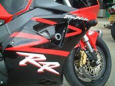 R&G Crash Protectors Classic Style for Honda CBR900 Fireblade (2000 -2003) BLACK