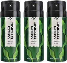 Wild Stone Forest Spice Deodorant For Men 150 ML (Pack of 3)
