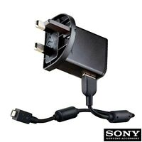 GENUINE SONY ERICSSON EP800 MAINS WALL CHARGER WITH MICRO USB DATA CABLE