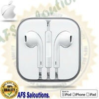 Genuine Earphones Headphones Earpods for Apple iPhone 6 6s 5 5s iPod iPad Mic