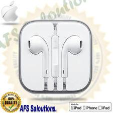 Genuine Earphones Headphones Earpods for Apple iPhone 6 6s 5 5s iPod iPad Mic