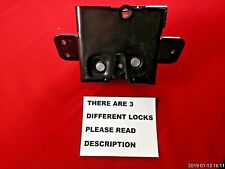 06-11 CHEVROLET HHR TAILGATE LATCH LIFT GATE HATCH LOCK TRUNK  4-PIN PLUG OEM