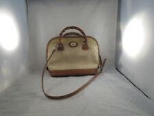 Dooney & Bourke Beige/Brown Satchel Purse/Handbag