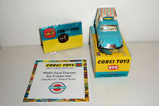 Corgi Toys Wall's Ice Cream Van On Ford Thames 474 Musical Chimes Mint in Box.