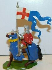 Old BRITAINS of England 1950s Lead, Mounted Knight of Agincourt, Set #1662  B