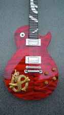 RGM19 Slash Guns N Roses Red Snake Pit  Miniature Guitar