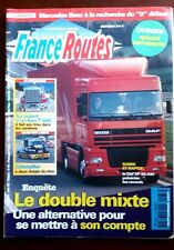 France Routes n°187; Daf XF 95.430/ Ken T 800/ Caterpillar/ Double Mixte