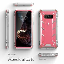 For Samsung Galaxy S8 Poetic Revolution Series Case Rugged Shockproof Cover Pink