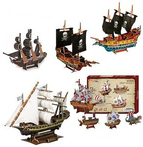 3D Puzzle Pirate's Ships Pirate Ship