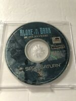 Alone In The Dark One-Eyed Jack's Revenge Sega Saturn DISC ONLY 1996 TESTED