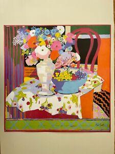 KEN SCOTT,'LUNEDI', RARE AUTHENTIC 1999 ART PRINT