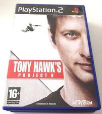 TONY HAWK'S PROJECT 8 PLAYSTATION 2 PS2 GIOCO ITALIANO SPED GRATIS SU + ACQUISTI