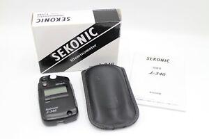 Sekonic Illuminometer i-346 LCD Light Meter