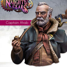 1/12 Scale Captain Bust Model Resin Unpainted Figure Model Garage Kit Statue New