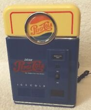 "Vintage Pepsi-Pepsi Vending Machine Tabletop Am/Fm Radio-7"" Tall-Collectible!"