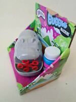 HIPPO BUBBLE Machine Bubbles Maker Summer Kids Toy New 5yr+ Battery Operated NEW