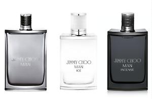 JIMMY CHOO Man Intense Ice 3 mL 5 mL 10 mL Samples Glass Atomizer   Eau De Toile