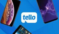 Tello Mobile Referral $10 Credit Code (P3F0V01P) + 15% off Coupon