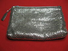 Lovely Vintage Whiting Davis Mesh Silver/Gold Clutch