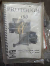 THOMAS PROTOUGH 300 OWNERS/OPERATORS MANUAL SERVICE/PARTS No.047711 1/2002