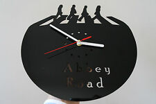 THE Beatles Abbey Road, design orologio da parete, in plexiglass verde [j-3]