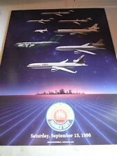 McDONNELL DOUGLASS Family Day POSTER: Family Day (Saturday, September 13, 1986)