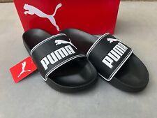 Puma Leadcat, schwarz/weiß, Badesandalen, 360263 01