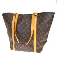 Auth LOUIS VUITTON Sac Shopping Shoulder Bag Monogram Leather BN M51108 18MC991