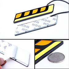 2x Super Bright White COB Car LED Lights 12V for DRL Fog Driving Lamp Waterproof