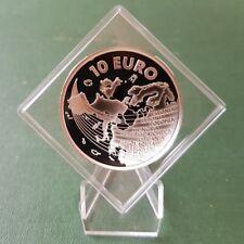 España moneda de plata 10 euros-juan carlos 2004-pp