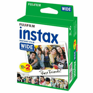 Fujifilm Instax WIDE Picture Format Film TWIN Pack (20 Shots)