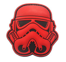 STAR WARS TACTICAL MORALE army TACTICAL ISAF rubber HOOK & LOOP PATCH   HK  670