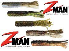 Zman TRD Tube Z Soft Plastic Lures for Ned Rig Shroom Jig Heads Perch Fishing