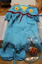 American Girl Doll EUC Kaya Pow Wow outfit of Today Diva Truly me Mix Match Blue