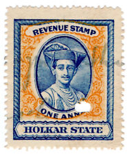 (I.B) India (Princely States) Revenue : Holkar State Duty 1a