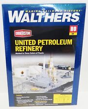 HO Scale Walthers Cornerstone 933-3705 United Petroleum Refining Building Kit