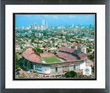 "Orange Bowl Miami Hurricanes Stadium Photo GU120 (Size: 12.5"" x 15.5"") Framed"