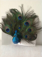 PEAFOWL BIRD FOR WEDDINGS CAKE PARTY AND WEDDING CHRISTMAS DECORATIONS