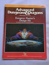 Advanced Dungeons & Dragons DUNGEON MASTERS DESIGN KIT 1988 TSR vtg game book