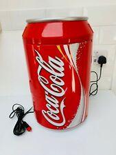 More details for coca cola can coke 10 litre portable mini fridge cooler, naiko, drinks/food