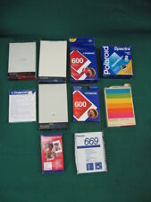 New Lot of 10 polaroid Instant Film 600 669 108 3000 Spectra 75 speed 108