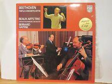 BEAUX  ARTS TRIO BEETHIOVEN TRIPLE CONCERTO HAITINK PHILIPS LP # 9500 382 N/M